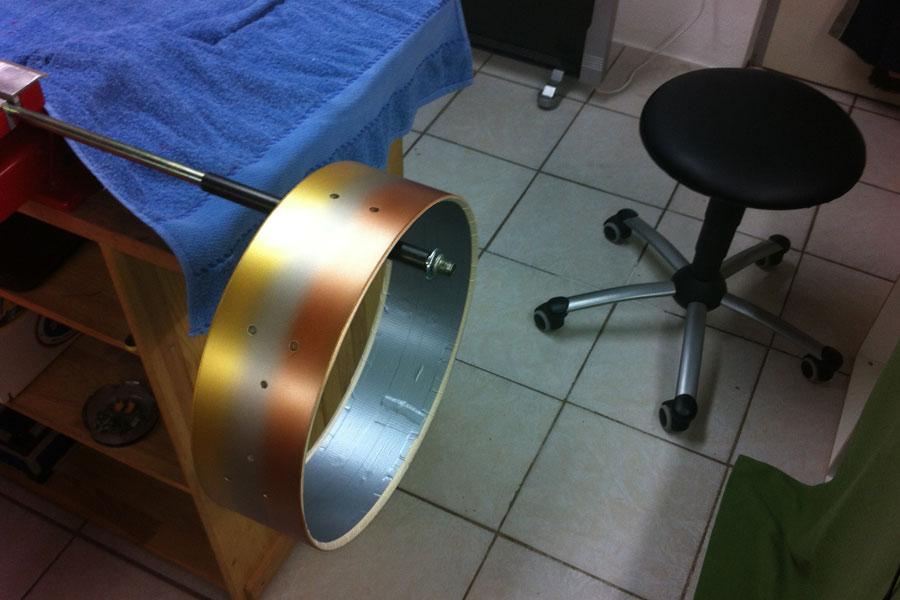 Auf der Reso Seite Kupfer Metallic