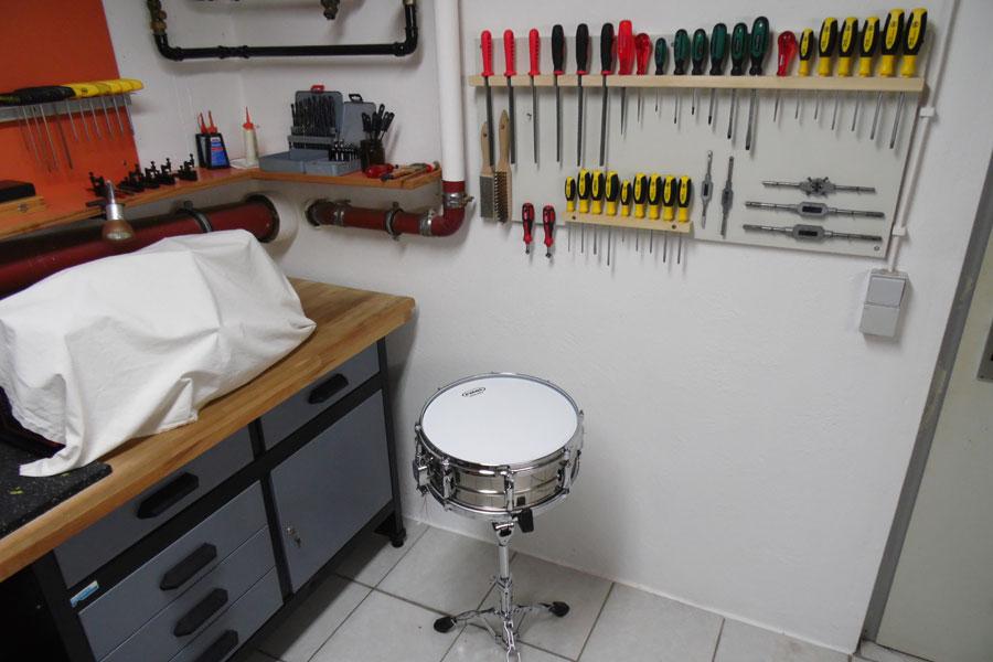 Alles im Grff - Handwerkzeuge für Drums.