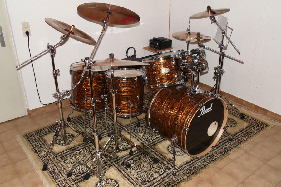 Pearl Vision Drum Set